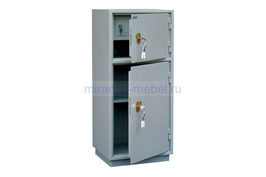Металлический бухгалтерский шкаф КБ - 042т / КБС - 042т