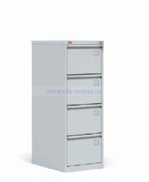 Металлический картотечный шкаф (картотека) КР-4