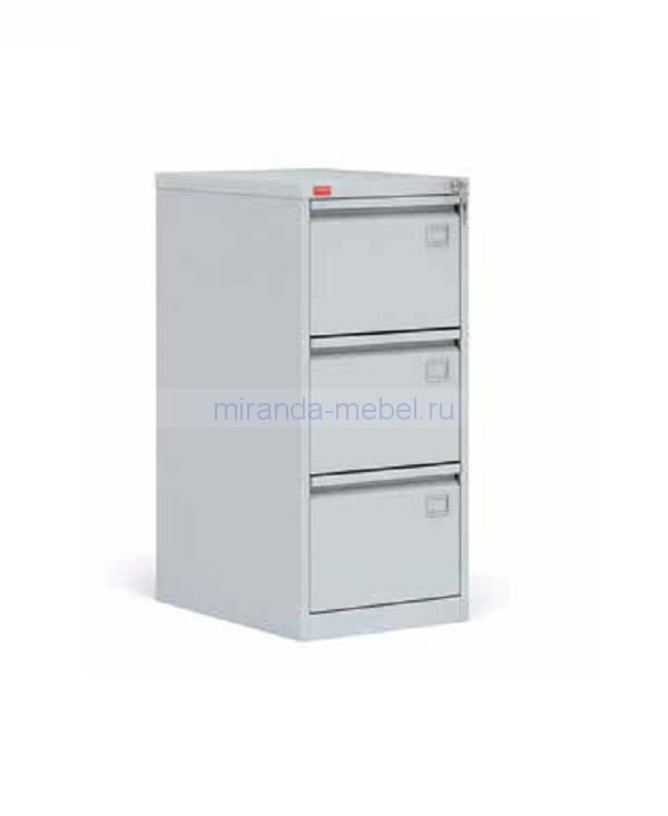 Металлический картотечный шкаф (картотека) КР-3